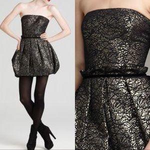 Rachel Zoe NWT Strapless Holiday Bubble Dress